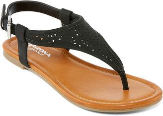ARIZONA Arizona Sari Womens Flat Sandals $40 thestylecure.com