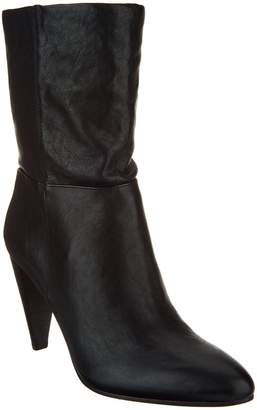 Vince Camuto Leather Mid-Calf Boots - Ezabelle