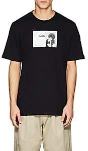 Oamc Men's Cotton Short-Sleeve T-Shirt-Black Size S