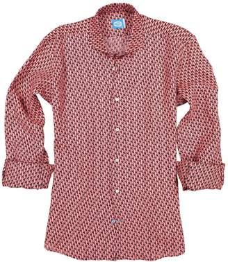 Panareha Ipanema Linen Shirt in Coral