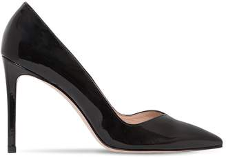 Stuart Weitzman 95mm Anny Patent Leather Pumps