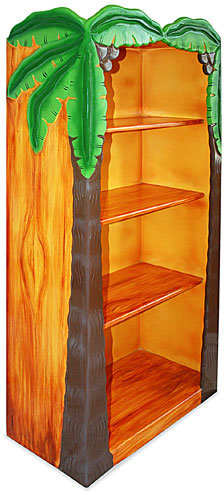 Palm Tree Bookcase
