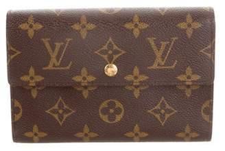 Louis Vuitton Monogram Porte-Trésor Étui Papier Wallet