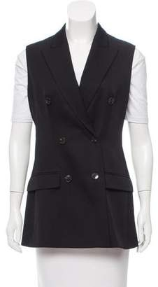 Christian Dior Wool Double-Breasted Vest