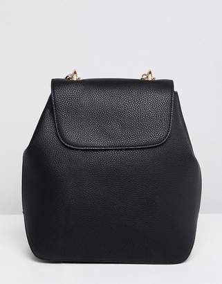 Asos DESIGN chain strap backpack
