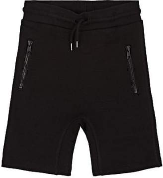 Molo Kids Kids' Alias Cotton Terry Shorts - Black