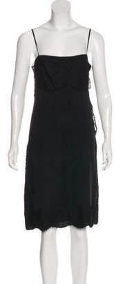 Gucci Silk Sleeveless Dress