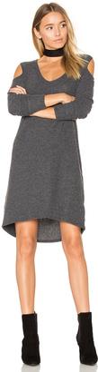 Nation LTD Gwen Cold Shoulder Dress $127 thestylecure.com