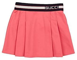 Gucci Kids' Logo-Waistband Piqué Skirt