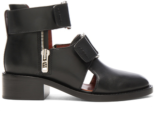3.1 phillip lim Leather Addis Cut Out Boots $695 thestylecure.com