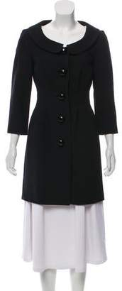Michael Kors Collared Knee-Length Coat
