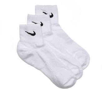 Nike Performance Cotton Ankle Socks - 3 Pack - Men's