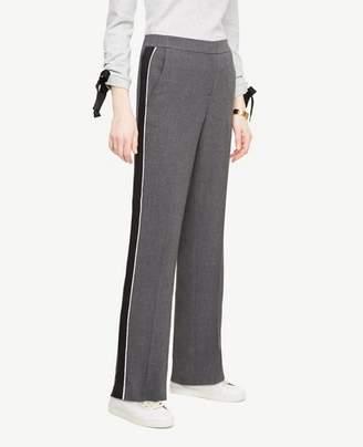 Ann Taylor Petite Side Stripe Track Pants
