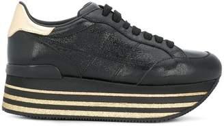 Hogan Maxi H222 glitter sneakers