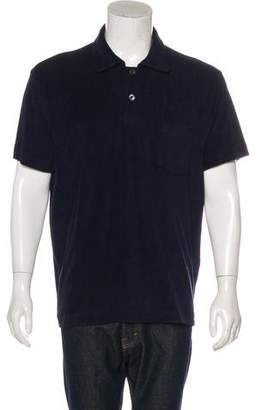 Tom Ford Terrycloth Polo Shirt