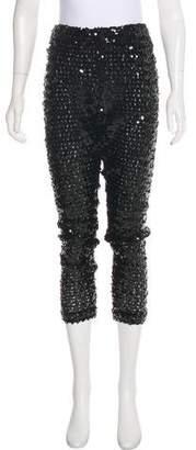 DKNY High-Rise Embellished Pants