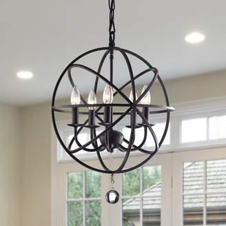 Albano Darby Home Co 5-Light Foyer Pendant