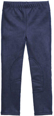 Imoga Stretch Faux-Suede Pants, Size 2-6