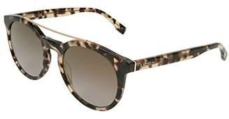 Lacoste Unisex L821S Round Sunglasses