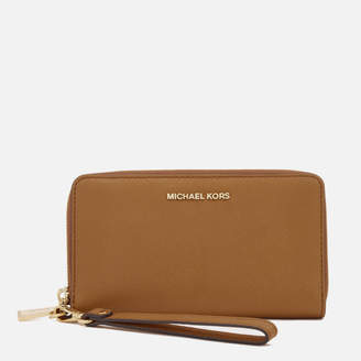 MICHAEL Michael Kors Women's Jet Set Travel Phone Purse - Acorn
