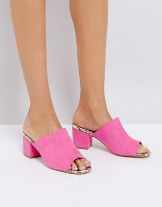 Oasis Heeled Mule $48 thestylecure.com