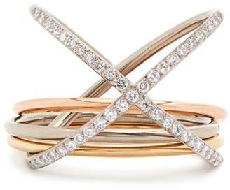 Charlotte Chesnais Fine Jewellery - Xxo Diamond & Gold Ring - Womens - Gold