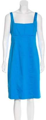 Calvin Klein Sleeveless Bodycon Midi Dress