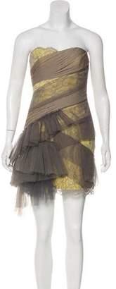 BCBGMAXAZRIA Strapless Cocktail Dress w/ Tags