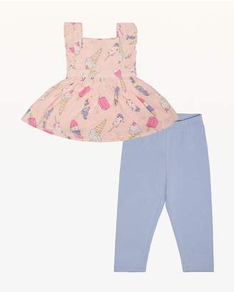 Juicy Couture Cool Treats Dress & Legging Set for Baby