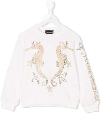 Versace seahorse sweatshirt