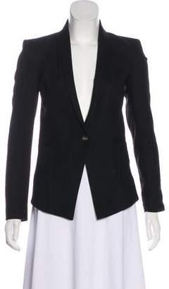 Helmut Lang Wool Long Sleeve Blazer