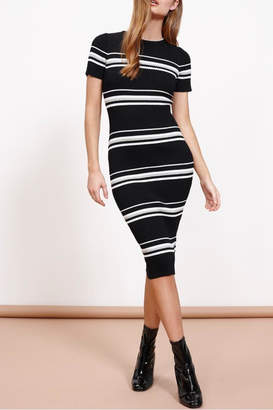 MinkPink Midi Sweater Dress