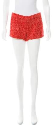 L'Autre Chose Tweed Low-Rise Shorts w/ Tags