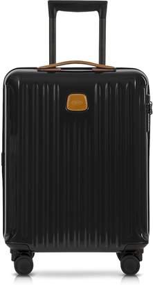 Bric's Capri Black/Tobacco Polycarbonate Hard Case Cabin Trolley