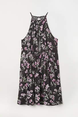 H&M H&M+ Sleeveless Dress - Black