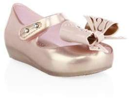 Mini Melissa Girl's Ultragirl IX Metallic Loafers