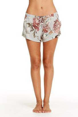 Chaser Heirloom Lace-Up Shorts