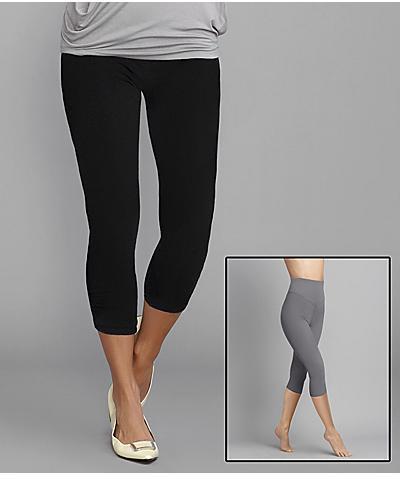 Yummie Tummie Just Yummie Dana Capri Reversible Leggings  Shapewear
