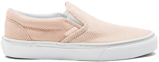 Vans Classic Slip-On Sneaker $60 thestylecure.com