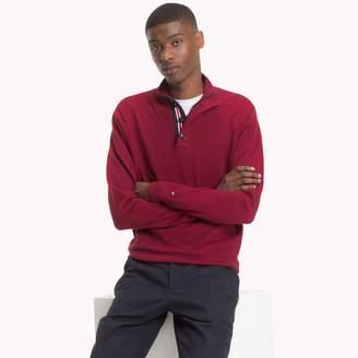Tommy Hilfiger Cotton Silk Popover Sweater