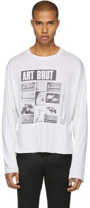Enfants Riches Deprimes White Long Sleeve Art Brut Dubuffet T-Shirt