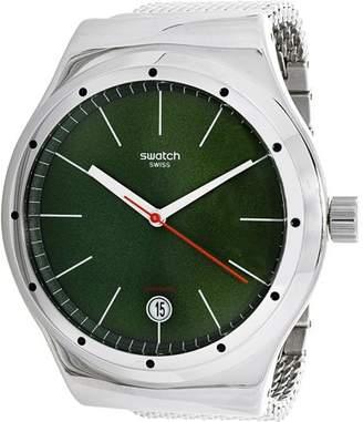 Swatch Women's Irony YIS407GB Silver Stainless-Steel Analog Quartz Dress Watch