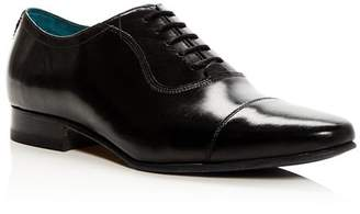 Ted Baker Men's Karney Leather Cap Toe Oxfords