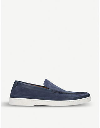 34708446a75 Navy Suede Loafers Women - ShopStyle UK