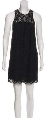 Joie Sleeveless Embroidered Dress