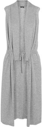 Splendid - Belted Knitted Vest - Light gray $195 thestylecure.com