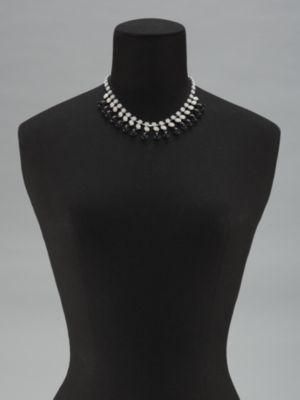 New York & Co. Teardrop Beads Choker Necklace