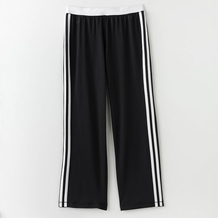 Tek gear® relaxed fit striped mesh pants