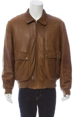 Hermes Beaver-Fur Lined Deer Leather Jacket