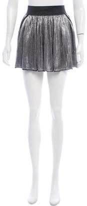 Zadig & Voltaire Plissé Mini Skirt